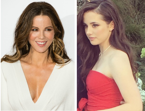 A atriz Kate Beckinsale e sua filha, Lily Beckinsale (Foto: Getty Images/Instagram)