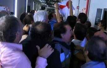 Com hit da Copa 2014, River Plate comemora classificação no Mineirão