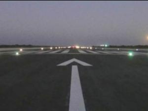 Aeroporto deve ser concluído em março deste ano (Foto: Governo do Estado/Divulgação)