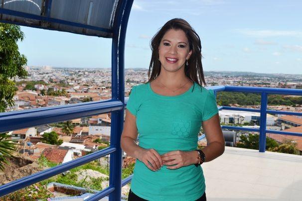 Tâmara Oliveira, apresentadora do GE Sergipe (Foto: Divulgação / TV Sergipe)