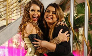 Confira como foi a visita que Preta Gil fez a Chayene: tudo acabou em festa! (Cheias de Charme / TV Globo)