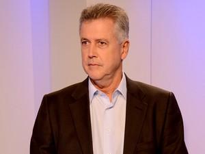 O candidato ao GDF Rodrigo Rollemberg (PSB) (Foto: Gabriel Souto/TV Globo)