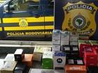 PRF apreende mais de 50 celulares avaliados em R$ 30 mil em ônibus
