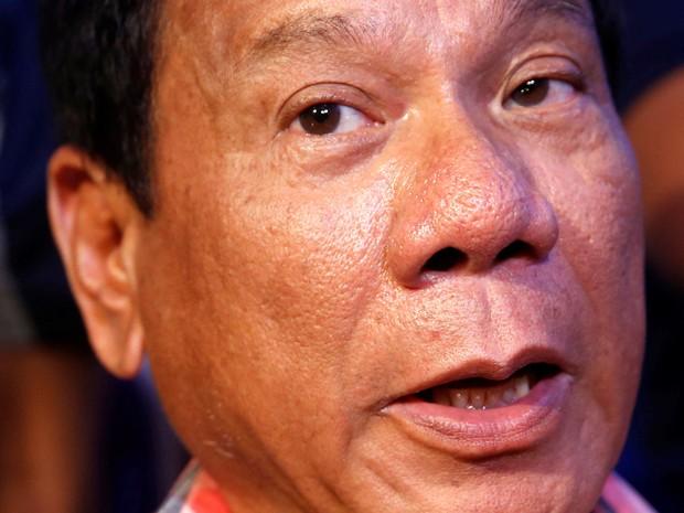 Rodrigo Duterte foi eleito presidente das Filipinas  (Foto: Erik de Castro/ Reuters)