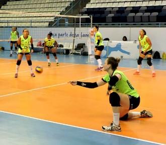 Vôlei Bauru, treino, Osasco, Ana Guth, Superliga (Foto: Fábio Barbosa / Vôlei Bauru)