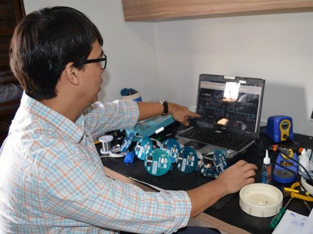 CEO da Optimale, Engenharia e Soluções Tecnológicas, Peter Cheung (Foto: Anderson Viegas/Do G1 MS)