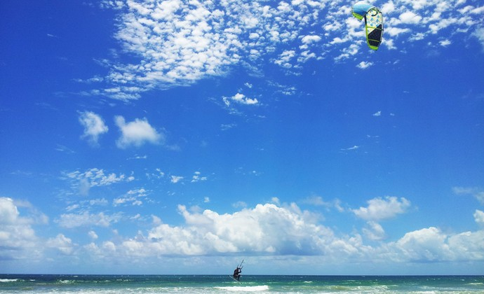 kitesurf; kitesurf salvador (Foto: Ruan Melo)