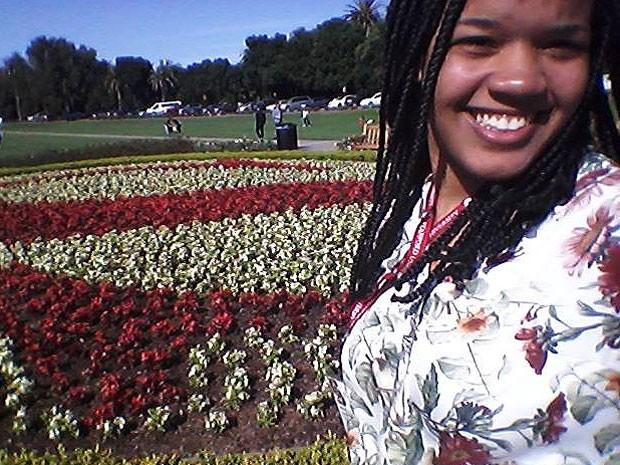 Georgia visitou Stanford nos EUA (Foto: Divulgação / Arquivo Pessoal)
