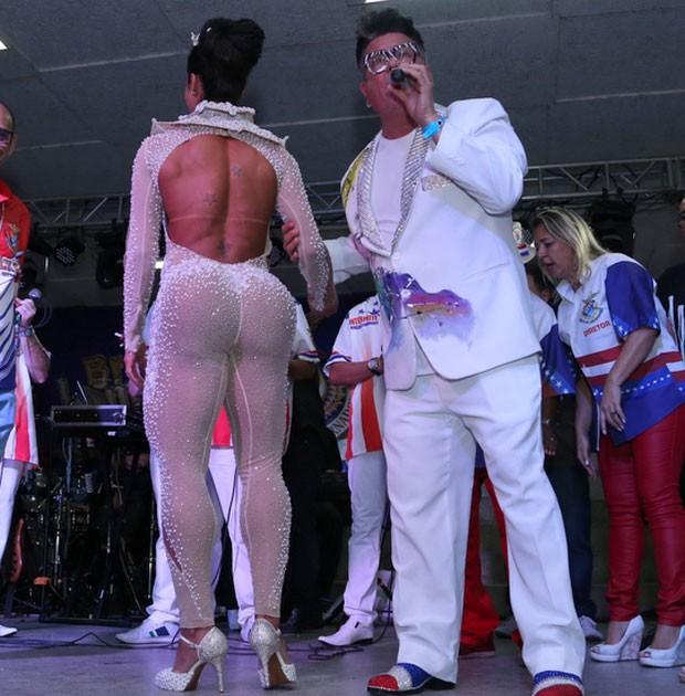 Gracyanne e Milton Cunha (Foto: AgNews / Anderson Borde)