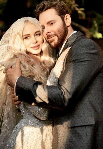 Alexandra e Sean no casamento inspirado em 'O Senhor dos Anéis' (Foto: Mark Seliger/Vanity Fair)