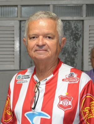 Presidente do Auto Esporte, Manoel Demócrito (Foto: Yordan Cavalcanti / Globoesporte.pb)