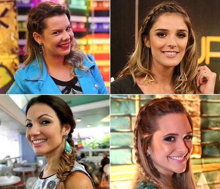 Fernanda Souza, Patrícia Poeta, Juliana Paiva e Rafa Brites (Foto: Gshow)