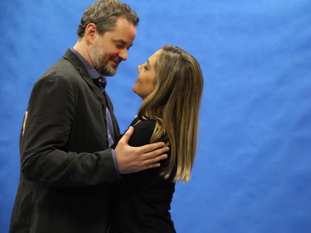 Dan Stulbach e Heloísa Périssé farão par na série (Foto: Pedro Curi / TV Globo)