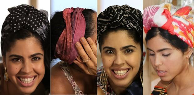 Turbantes da Bela Gil (Foto: Divulgao)