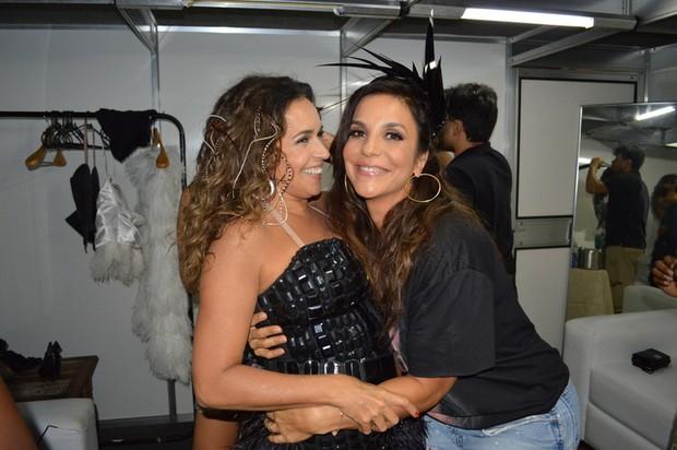 Daniela Mercury e Ivete Sangalo (Foto: Felipe Souto Maior / AgNews)
