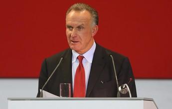 """Presidente do Bayern diz que ingleses estão """"sequestrando"""" joias do exterior"""