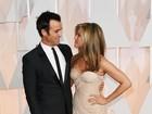 Jennifer Aniston e Justin Theroux fazem festa de casamento, diz jornal