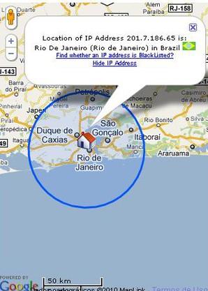 Find IP Adress, encontrar endereço de IP