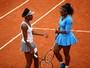 Com dois jogos no mesmo dia, irmãs Williams dão adeus às duplas em Paris