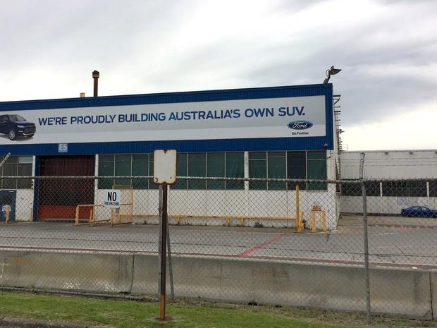 Fábrica da Ford na Austrália, em Melbourne (Foto: REUTERS/Sonali Paul)