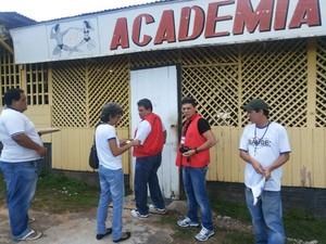 O objetivo da fiscalização é identificar academias que estão na informalidade (Foto: Ismael Oliveira/Arquivo Pessoal)