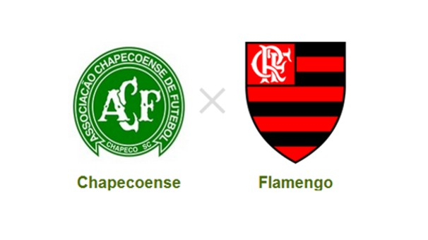 Flamengo e Chapecoense se enfrentam pela 22ª rodada do Brasileiro (Foto: Reprodução)