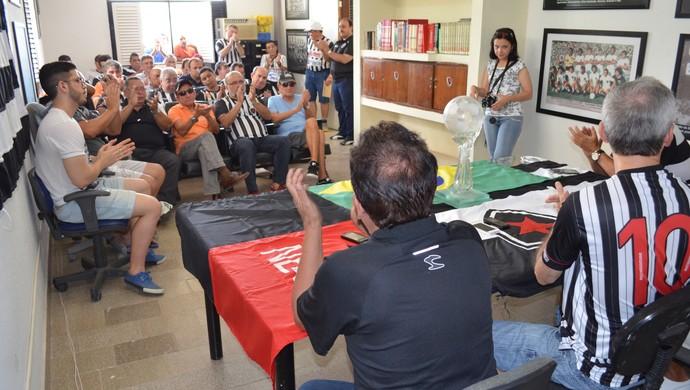 Eleições do Botafogo-PB (Foto: Larissa Keren / GloboEsporte.com/pb)