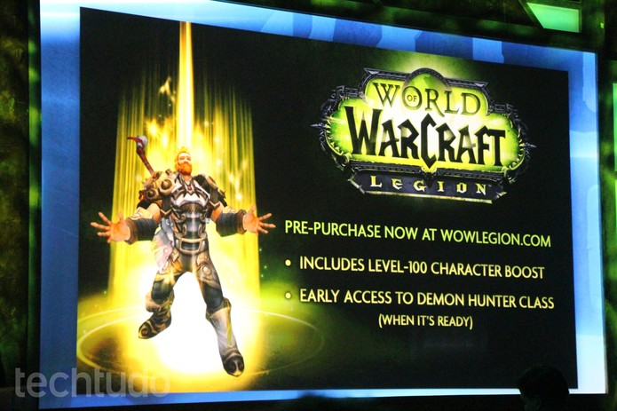 World of Warcraft Legion (Foto: Felipe Vinha / TechTudo)
