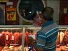 Venda de carne e embutidos não tem queda nos açougues de Petrolina, PE