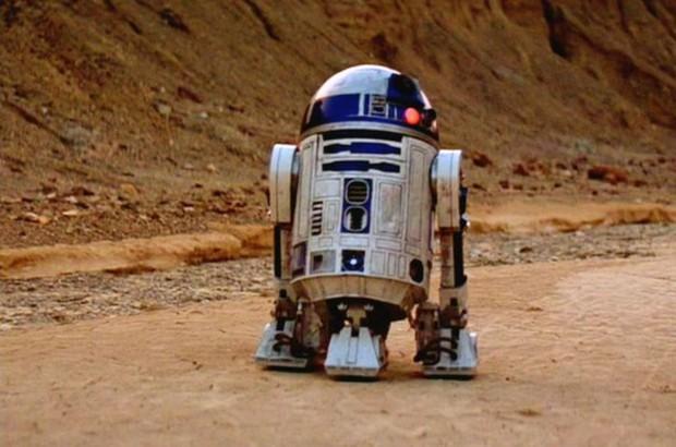 O robô R2-D2 dos filmes Star Wars (Foto: Reprodução)