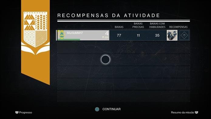 Destiny: como adicionar e gerenciar as armas equipamentos do seu personagem (Foto: Reprodução/Murilo Molina)