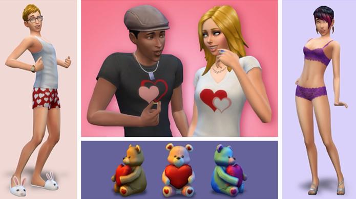 The Sims 4 comemora o Dia dos Namorados em fevereiro (Foto: Sims Online)