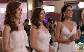 Finalmente Cadinho se casa com Verônica, Noêmia e Alexia