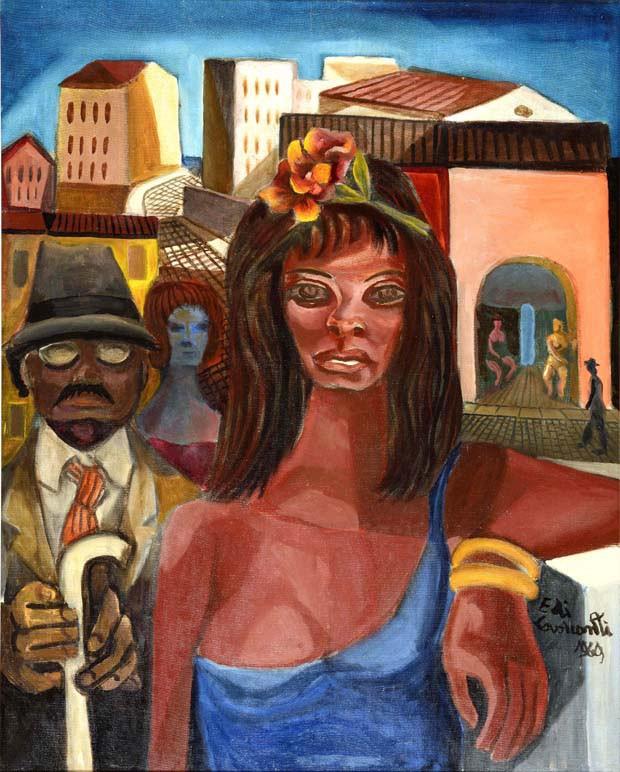 Confidencial Dira Paes (Foto:  divulgação/Galeria de Arte Ipanema)
