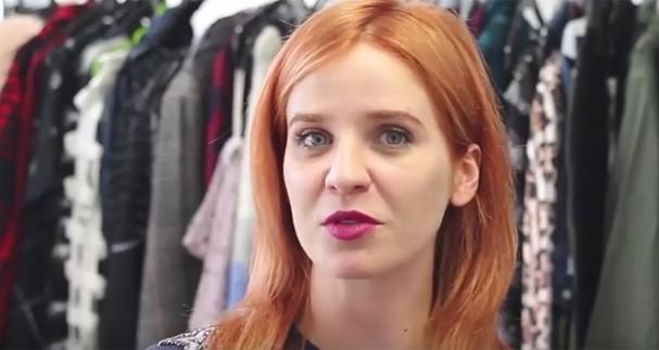 Rita Lazzarotti conta como chegou à Glamour (Foto: Reprodução)