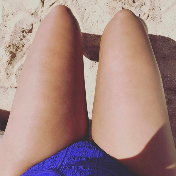 A foto compartilhada pela cantora Demi Lovato (Foto: Instagram)