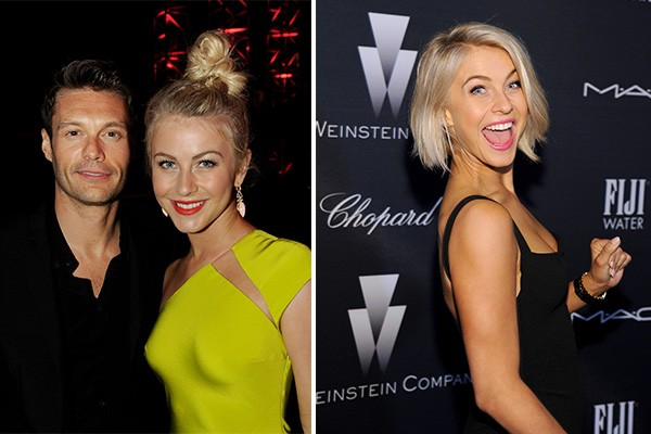 Julianne Hough e Ryan Seacrest (Foto: Getty Images)