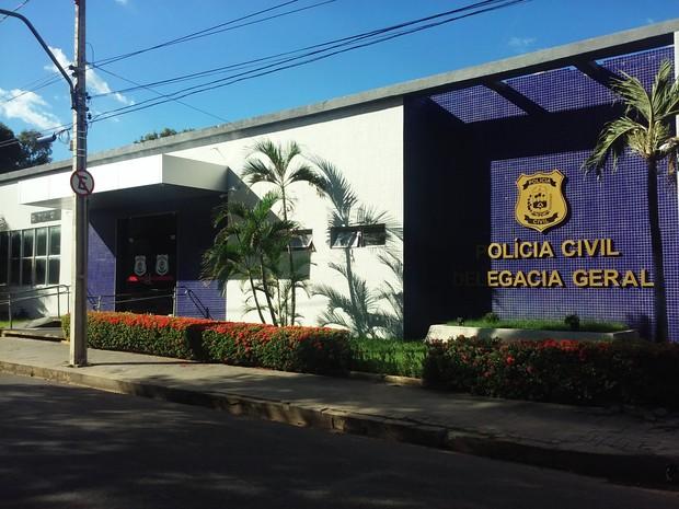 Delegacia Geral da Polícia Civil do Piauí em Teresina (Foto: Fernando Brito/G1)