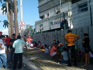 MST ocupa sede do Incra em Fortaleza desde a madrugada desta quinta-feira (28) (Foto: Divulgação/MST)