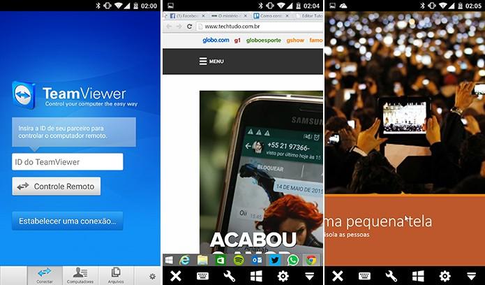 TeamViewer é um aplicativo para controlar computador à distância (Foto: Reprodução/Elson de Souza)