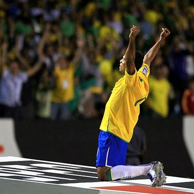 Luis Fabiano Seleção 2007 (Foto: O Globo)