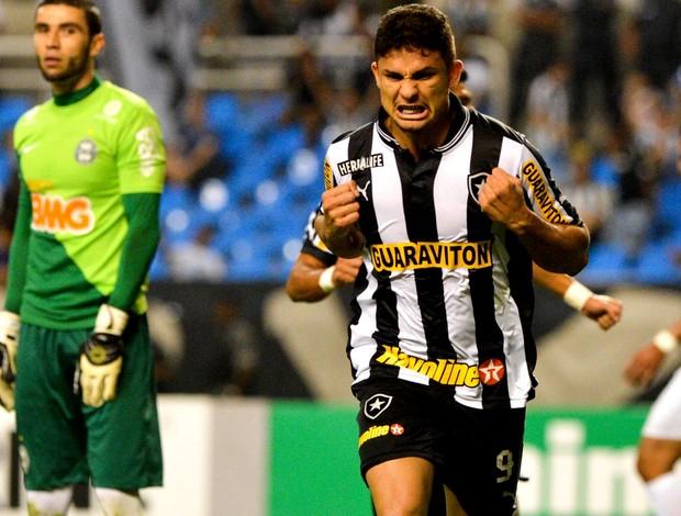 Elkeson botafogo gol coritiba (Foto: Celso Pupo / Agência Estado)