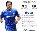 """Lampard anuncia aposentadoria aos 38 anos: """"Novo capítulo na vida"""""""