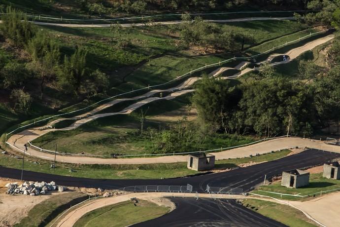 Circuito de Mountain Bike dos Jogos do Rio 2016 (Foto: Renato Sette Câmara/Prefeitura do Rio)