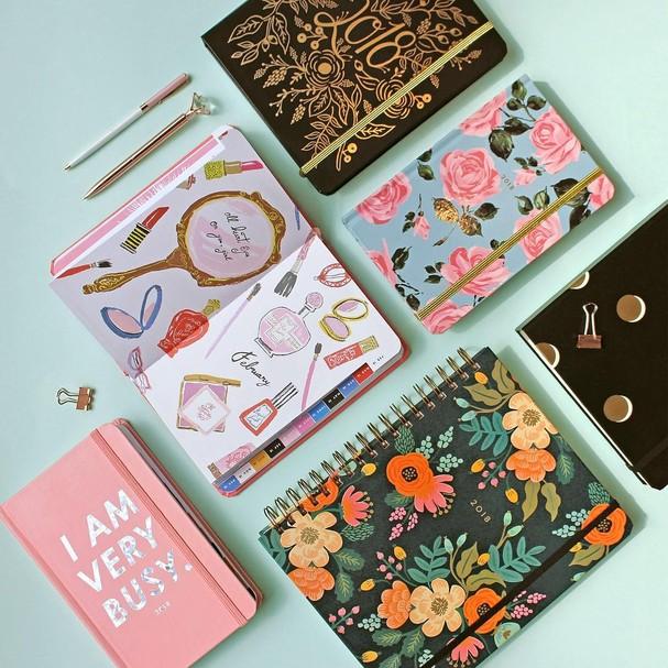 Viciadas em planners, agendas e caderninhos, uni-vos (Foto: Instagram/Reprodução)