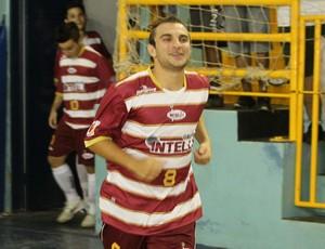 Caio, ala do Orlândia Futsal (Foto: Carlos Silva / Divulgação)