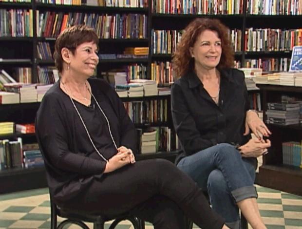 Emilia Silveira e Sandra Moreyra no 'Amanaque'  (Foto: Globo)