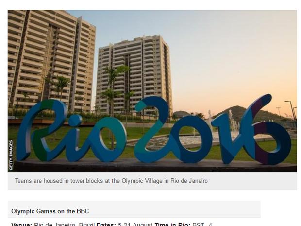 BBC destacou que Austrália está pressionando COI por solução de problemas. (Foto: Reprodução internet)