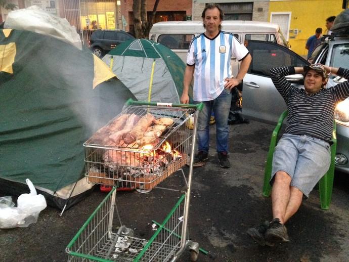 Ap s vit ria argentinos assam parrilla em carrinho de - Parrillas argentinas en barcelona ...