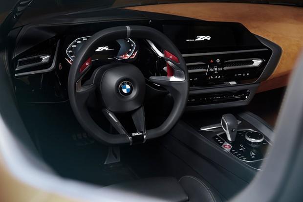 Novo conceito BMW Z4 interior  (Foto: Divulgação )